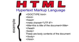 What is HTML Hypertext Markup Language