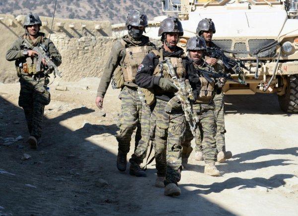 ميدان وردک ولايت کښې دسيکيورټي فورسزعملياتو دوران 15 طالبان وژلي شوي
