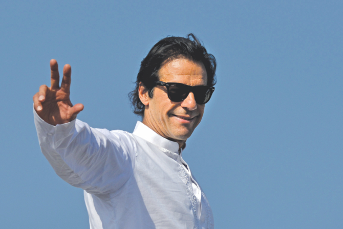 Pakistan Tehreek-e-Insaf Chairman Imran Khan