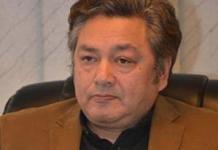 Azam Khan Chief Secretary KP
