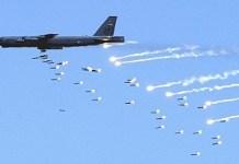 دامريکې فضائيه په افغانستان کښې د ټولو نه تباه کن بمبار طياري استعمال کړي