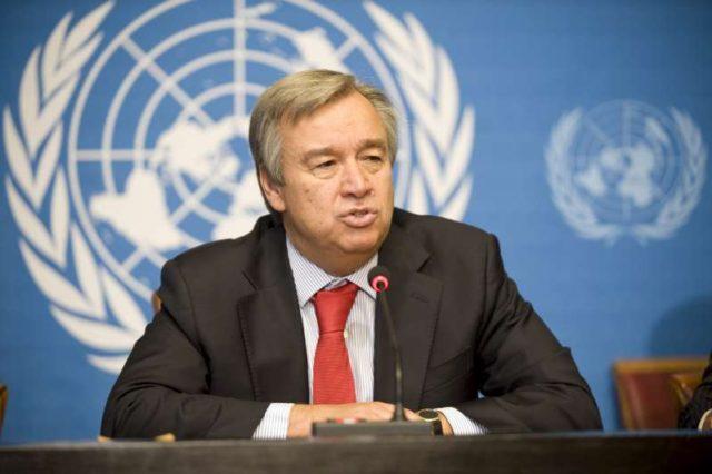د متحده قامونو جنرل سيکرټري انتونيوګوتريس صبا د پاکستان په دوره راځي