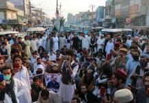 ميرعلي کښې د طاهر داوړ شهادت خلاف احتجاجي مظاهره شوي