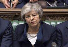 برطانوي پارليمنټ د وزيراعظم تريسامے برګزټ معاهده مسترد کړي