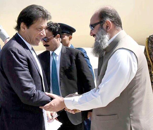 وزير اعظم عمران خان به په اتلسم اپريل د کوئټي دوره کوي