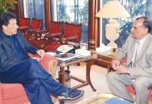 وزيراعظم عمران خان کابينه کښې اعظم سواتې دوباره شامل کړې دے