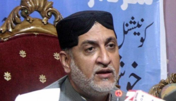 د وزير اعلي بلوچستان تبديلې کوشيش کښې لګيه يو: اختر مينګل