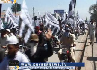 Khyber News | 23 March Celebrations in Peshawer Report by Wajid Hoti