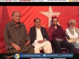 پاکستان مزدور کسان پارٹی کے مرکزی صدر کا جلسہ عام سے خطاب