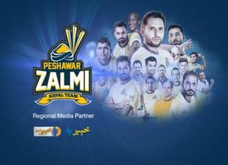Regional Media Partner of Team Peshawar Zalmi