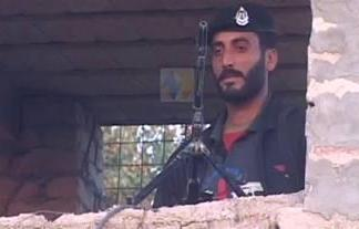 Policeman killed in militants attack on police check post attack in Bannu; (Umar Dayaz report)