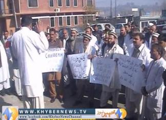 Doctors protest against senior doctor's abduction: Report by  Shaukat
