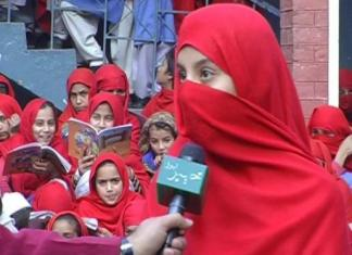 Girls School with beautiful building but poor facilities: Report by M.Arif