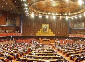 PTI, PML-N leaders exchange harsh words during NA session
