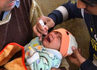 Three-day anti-polio drive to start from Monday in tribal areas