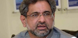 Khaqan Abbasi accuses NAB of holding media trial of opposition parties