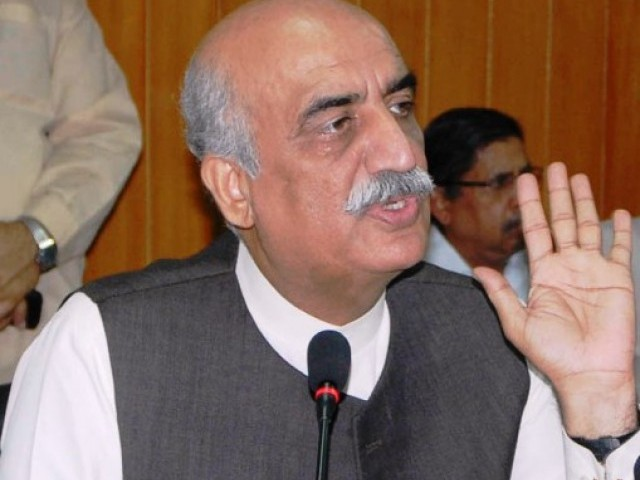 Khurshid Shah asks govt to take parliament into confidence over IMF loan