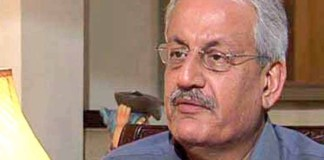 Chairman Senate Raza Rabbani
