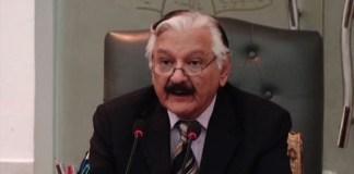 Chief Election Commissioner Sardar Raza Khan