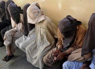 Five POs among 105 outlaws arrested in Peshawar