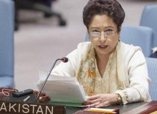Maleeha Lodhi urges UNSC to lift curfew in occupied Kashmir