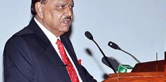President Mamnoon proposes Pakistan-SCO Trade Transit, Energy Corridor