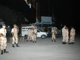 Rangers operation against terrorists