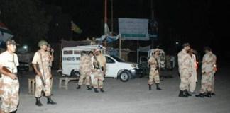 Rangers operation against terrorists