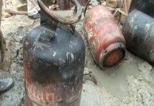 Five injured in gas cylinder explosion in Rawalpindi