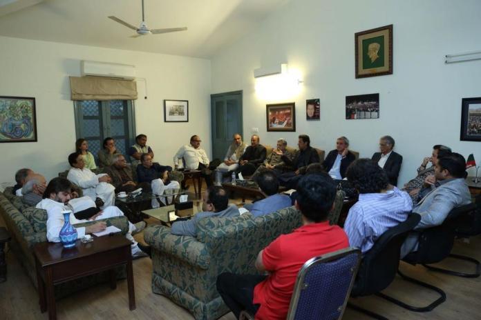 PTI finalizes names for caretaker prime minister
