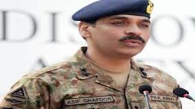 DG ISPR Major General Asif Ghafour