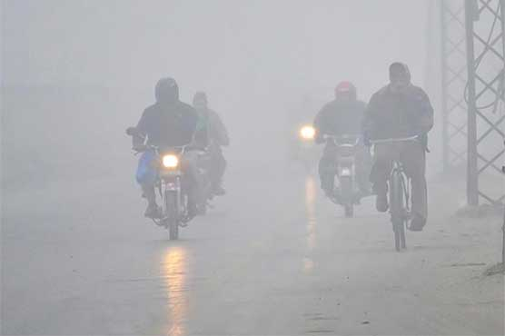 Dense fog blankets parts of Punjab, KP; motorway sections closed