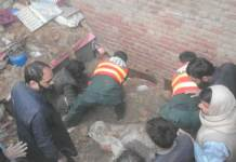 Roof collapse kills four brothers in Shahkot