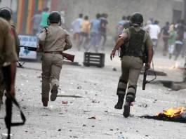 Indian troops martyr two youth in IOK