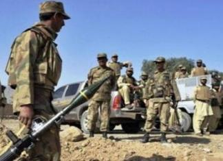 Security forces in North Waziristan