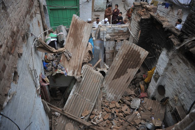 Three killed in house roof collapse incident in Lower Dir