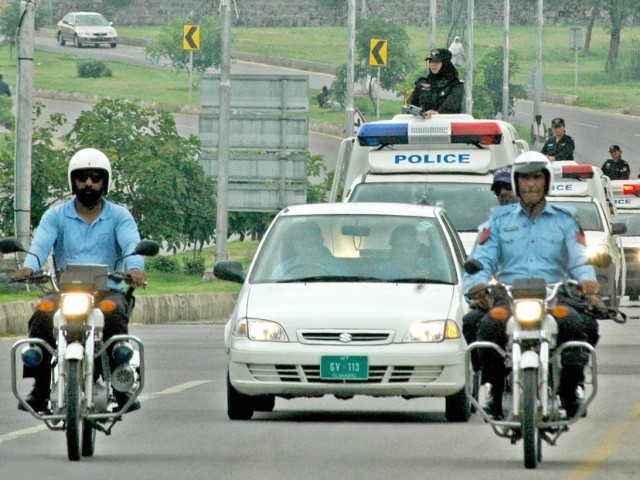 Islamabad police issues traffic plan for today - Khyber News