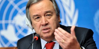 U.N. chief sets out disarmament vision, from hand grenades to H-bombs