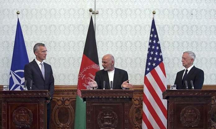 Jim Mattis visit to Kabul