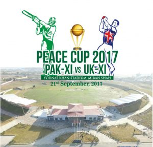 Cricket for peace