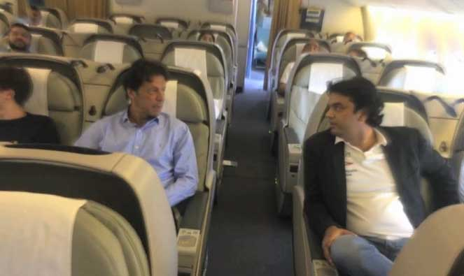 Imran Khan Along With His Sons Leaves For London
