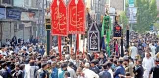 Ashura procession
