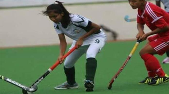 Pakistan women hockey team