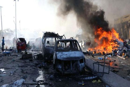 Mogadisho truck blast