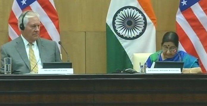 Tillerson-Swaraj Press Conference