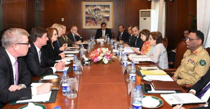 Pak-US talks