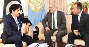 NSA Naseer Khan Janjua-Thomas Drew meeting