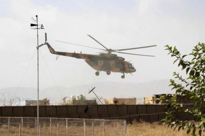 US Helicopter in Afghanistan