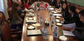 China-Pakistan delegations meeting