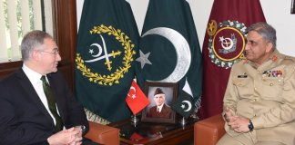Turkish Ambassador calls on COAS